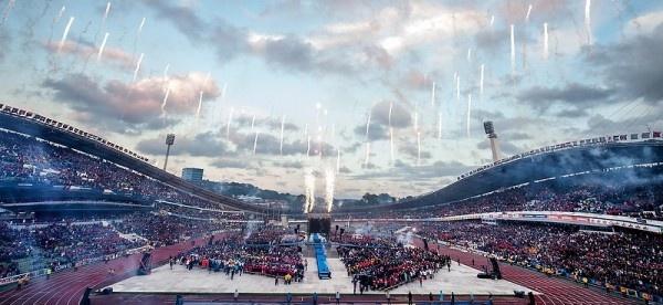 Gothia Cup opening ceremony - gothenburg, sweden